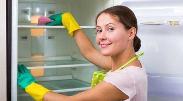 Cara Ampuh Bersihkan Kulkas dengan Bahan Alami