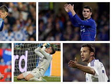 Kumpulan foto-foto pemain Chelsea yang dibeli mahal oleh Roman Abramovic tapi tampil mengecewakan. (Foto: AP)