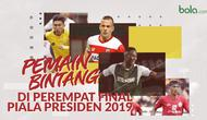 idxbet login | Pemain bintang di Perempat Final Piala Presiden 2019. (Bola.com/Dody Iryawan)