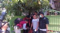 Penggerebekan narkoba di Semarang, Jawa Tengah (Liputan6.com/ Edhie Prayitno Ige)