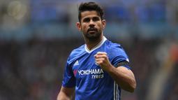 2. Diego Costa (66 juta euro) - Diego Costa dijual ke Atletico Madrid oleh Chelsea pada Januari 2018. Pemain asal Spanyol ini dilepas Chelsea dengan harga transfer 66 juta euro. (AFP/Paul Ellis)