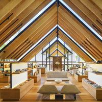 Amanpuri membuka paviliun retail yang dirancang arsitek Jepang Kengo Kuma