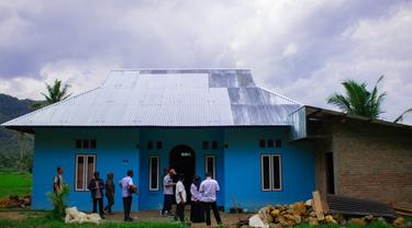Program bedah rumah di Kabupaten Pasaman Barat, Sumatera Barat. (Dok. Kementerian PUPR)