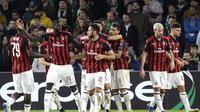 3. AC Milan – Krisis cedera yang parah tengah dialami skuat Rossoneri. Akibatnya penampilan mereka di Serie A inkonsisten. Kini AC Milan membutuhkan tambahan pemain tengah untuk membuat mereka bisa bersaing lagi. (AFP/Cristina Quicler)