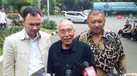 Politikus Gerindra Permadi memenuhi panggilan penyidik Polda Metro Jaya terkait video 'revolusi' yang viral. (Ronald/Merdeka.com)