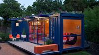 Ingin menghemat bujet ketika hendak membangun rumah, coba bangun rumah dari kontainer bekas!