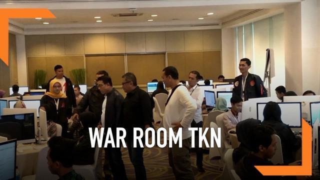 Tim Kampanye Nasional Jokowi-Ma'ruf memiliki War Room yang terletak di Hotel di Kawasan Kuningan Jakarta. Bagaimana penampakan dan apa yang dilakukan di tempat itu?