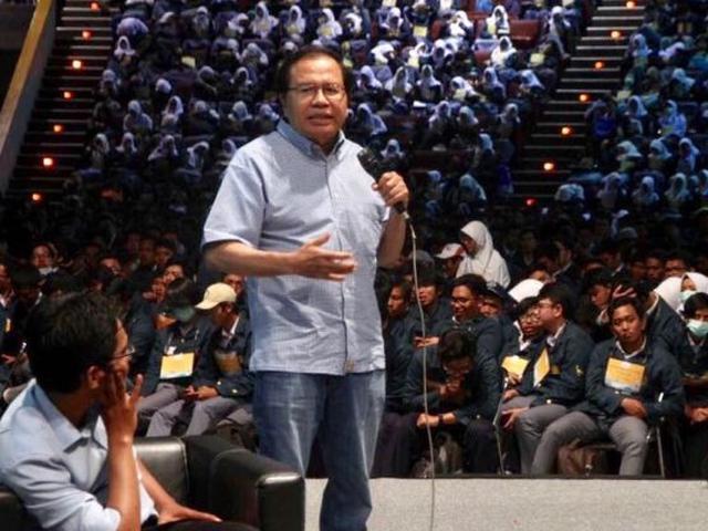 Rizal Ramli Ajak Mahasiwa Jadi Agen Perubahan - Bisnis Liputan6.com
