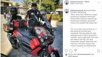 Yamaha NMax Milik Bikers yang Touring ke Mekkah Bersama Anaknya Dijual (instagram @jejakpalmarjambi)