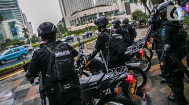 Pengamanan Malam Tahun Baru di Ibu Kota