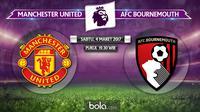 Premier League_Manchester United vs AFC Bournemouth (Bola.com/Adreanus TItus)