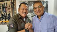 Agoes Soerjanto ditunjuk sebagai CEO Arema menggantikan Iwan Budianto, Selasa (22/1/2019). (Bola.com/Iwan Setiawan)