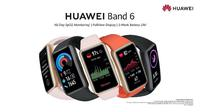 Tampilan Huawei Band 6 yang baru saja diluncurkan di Indonesia. (Foto: Huawei Indonesia)