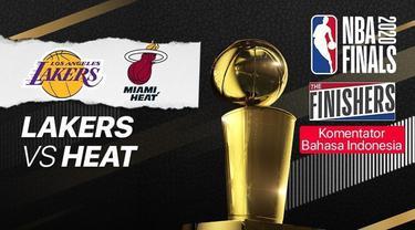 Berita video gim 6 Final NBA 2020, di mana LA Lakers menang 106-93 atas Miami Heat sekaligus menjadi juara musim ini, Senin (11/10/2020) pagi hari WIB.