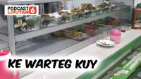 Banner PODCAST Lifestyle: Ke Warteg, Kuy! (dok. Liputan6.com)