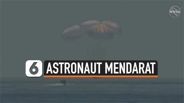 Astronaut Mendarat