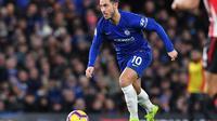 4. Eden Hazard (Chelsea) – 10 gol dan 9 assist (AFP/Ben Stansall)