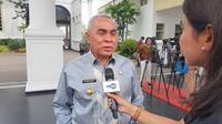 Gubernur Kalimantan Timur diundang ke Istana jelang pengumuman ibu kota baru, Senin (26/8/2019). (Liputan6.com/ Lizsa Egeham)