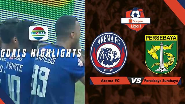 Berita video gol-gol yang tercipta saat Arema FC mengalahkan Persebaya Surabaya dalam lanjutan Shopee Liga 1 2019, Kamis (15/8/2019).