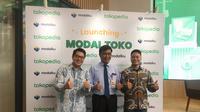 Tokopedia bersama Modalku pada hari ini resmi meluncurkan fitur Modal Toko. Fitur ini sebagai perkembangan dari layanan sebelumnya, yaitu Tokopedia Pinjaman Modal. (Liputan6.com/Ayu Lestari Wahyu Puranidhi).