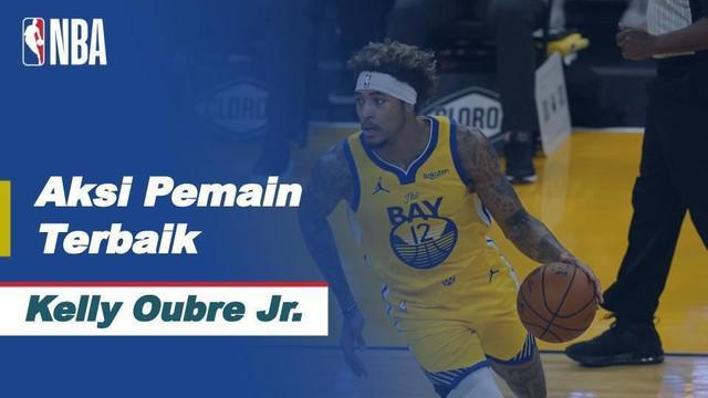 Berita Video Bawa Golden State Warriors Menang Atas Dallas Mavericks, Kelly Oubre Jr Jadi Pemain NBA Terbaik Hari Ini