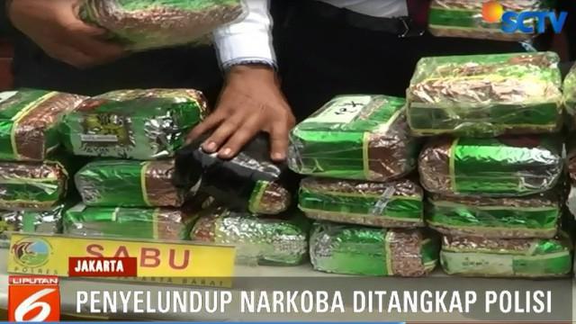 Polisi kini masih memburu sang pemesan narkotika atas inisial HT yang merupakan residivis kasus narkoba dan perampokan.c