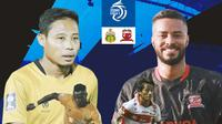 BRI Liga 1 - Duel Antarlini - Bhayangkara FC Vs Madura United (Bola.com/Adreanus Titus)