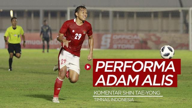 Berita video komentar Pelatih Timnas Indonesia, Shin Tae-yong, soal penampilan Adam Alis dalam dua laga uji coba.