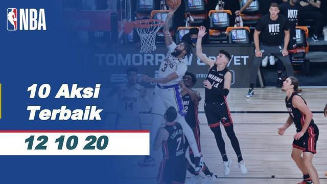 Berita video aksi-aksi terbaik yang tercipta pada gim 6 Final NBA 2020 antara LA Lakers melawan Miami yang berlangsung Senin (12/10/2020) pagi hari WIB.