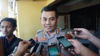 Kabid Humas Polda Jawa Tengah, Kombes Pol Agus Triatmaja saat ditemui wartawan di Mapolresta Solo, Sabtu (25/5).(Liputan6.com/Fajar Abrori)