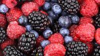 ilustrasi buah beri bisa membantu menghilangkan bekas jerawat/pexels