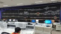 Pusat Pengendali Operasi atau OCC (Operation Control Centre) Manggarai merupakan OCC ke-5 yang dibangun oleh PT Len Industri (Persero). (Foto: LEN)