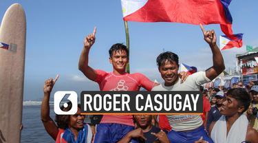 Peselancar Filipina, Roger Casugay dapat Fair Play Athlete di SEA Games 2019.