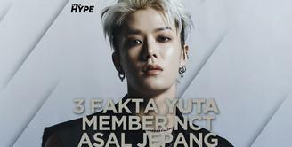3 Fakta Yuta Member NCT dari Jepang