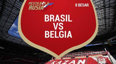 Berita video data dan statistik saat Belgia sukses menyingkirkan Brasil dari Piala Dunia 2018.