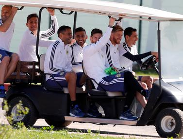 Intip Persiapan Timnas Argentina Jelang Hadapi Islandia