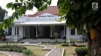 Museum Tekstil Jakara, Jalan KS Tubun, Jakarta Barat. Museum yang resmi dibuka pada 28 Juli 1976 berdiri menempati gedung tua di atas areal seluas 16.410 meter persegi. (Liputan6.com/Immanuel Antonius)