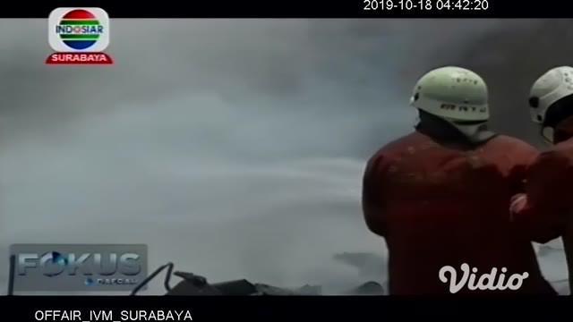Penyebab kebakaran lahan kosong seluas 600 meter persegi di Jalan Rungkut Kidul, Rungkut, Surabaya terungkap. Diduga kebakaran akibat tersulut dari bara api sisa kebakaran Senin lalu (15/10/2019), yang belum sepenuhnya padam.