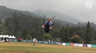 Tim Paralayang putri diprediksi merah perunggu di nomor cross country beregu.