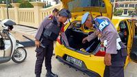 Polda Banten telah meningkatkan kewaspadaan keamanan di seluruh markas komando usai ledakan bom bunuh diri Medan (Foto: Liputan6/Dok Pol Polda Banten)