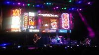 Extreme tampil menjadi bintang di JogjaRockarta, Minggu (3/11/2019) malam di Yogyakarta (Switzy Sabandar)