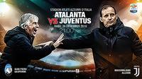 Atalanta vs Juventus (Liputan6.com/Abdillah)