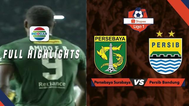 Berita video highlights Shopee Liga 1 2019 antara Persebaya Surabaya melawan Persib Bandung yang berakhir dengan skor 4-0, Jumat (5/7/2019).