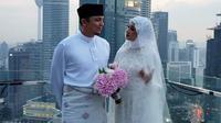 Seperti diketahui belum lama ini, artis cantik, Laudya Cynthia Bella resmi dipersunting pria asal Malaysia Engku Emran. Pernikahan digelar di Kuala Lumpur Malaysia pada Jumat (9/9/2017). (dok instagram)