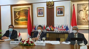Menteri ESDM Sampaikan Langkah Indonesia Menuju Ekonomi Hijau di Energy and Climate Joint Ministerial Meeting G20