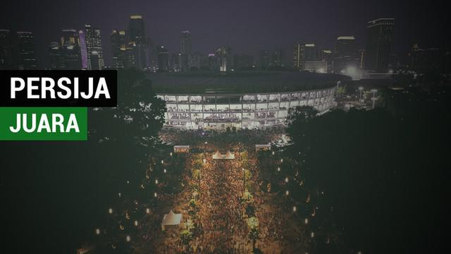 Berita video cover story dibalik kemenangan Persija Jakarta di Liga 1 2018, stadion Gelora Bung Karno kembali jadi saksi.
