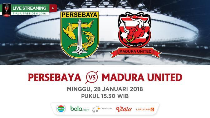 Indosiar Streaming Facebook: Live Streaming Indosiar Piala Presiden: Persebaya Vs