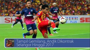 Performa Andik Vermansah bersama Selangor FA selama tahun ini terbilang mengesankan dan pemilik kapal pesiar dunia berebut buka rute ke Indonesia. Saksikan videonya di sini