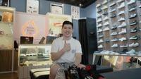 Reynard Gozali Sukses Bangun Bisnis Sneakers Langganan para Influencer dan Youtubers. foto: istimewa