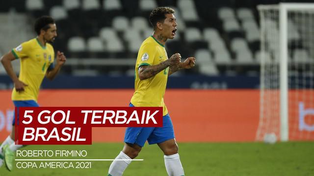 Berita Video, Deretan Gol Terbaik yang di Cetak Timnas Brasil di Copa America 2021